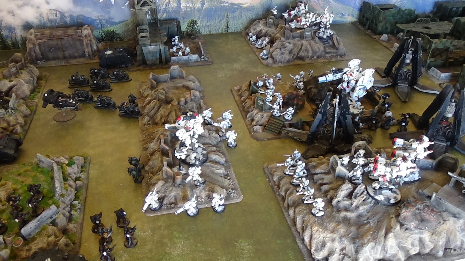 Tau vs Space Marines 2500pti