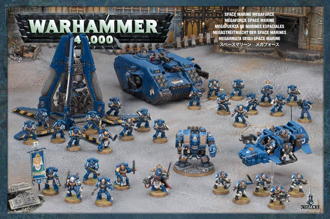 distaccamento di space marines