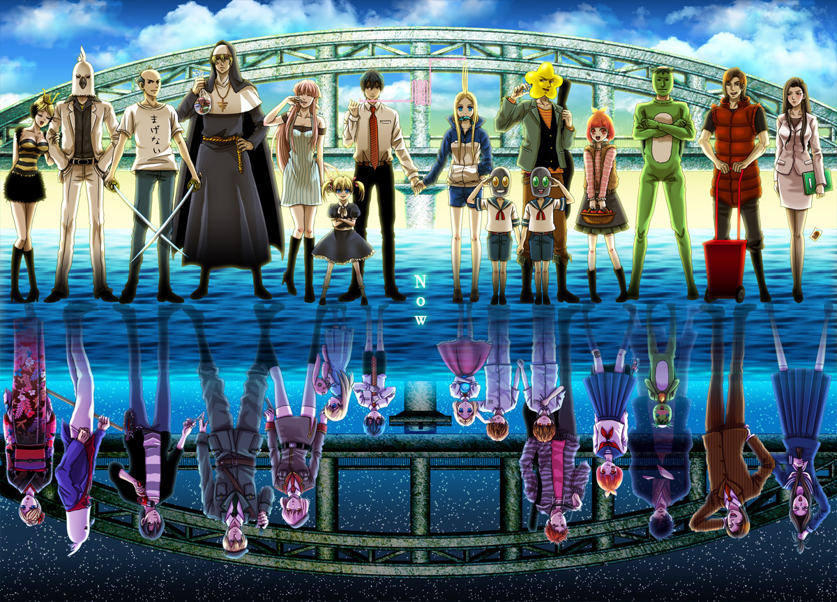 Arakawa under the bridge characters