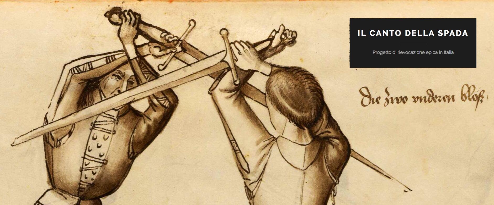 """Alla scoperta di Fabrizio Corselli e """"il canto della spada"""""""
