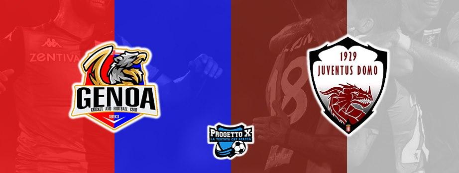 genoa juve domo progetto x progetto football manager progetto gaming