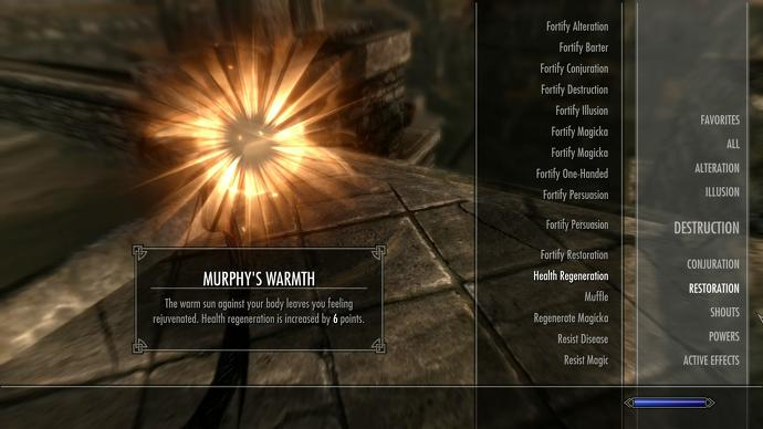 skyrim murphy