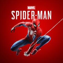 playstation marvel's spiderman logo