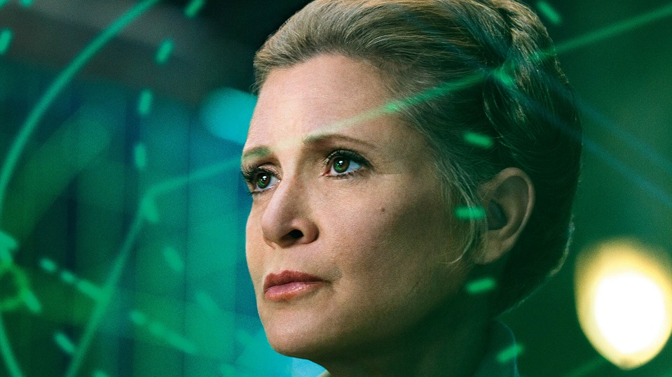 carrie fisher star wars leia organa