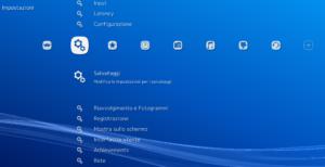 L'interfaccia di RetroArch