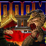 Schermata iniziale Doom II
