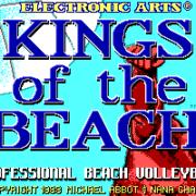 Schermata iniziale Kings of the Beach