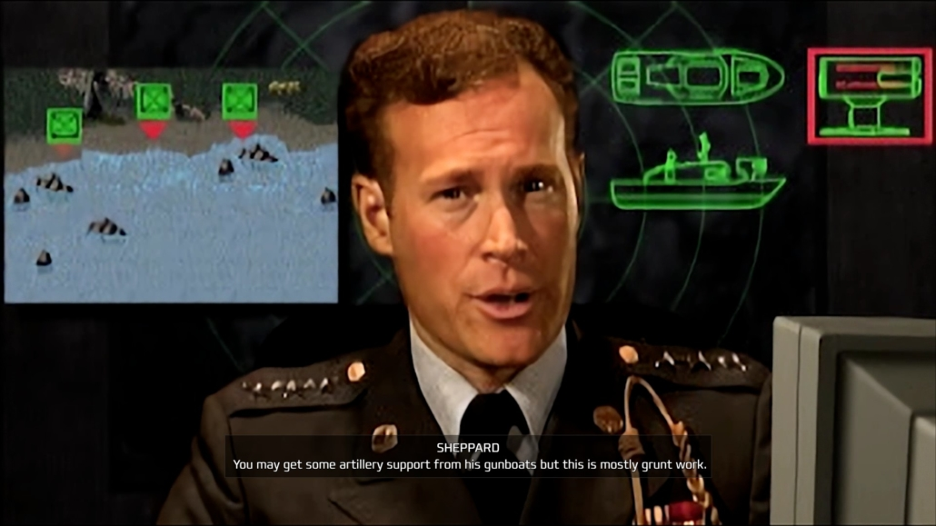 Briefing della prima missione GDI