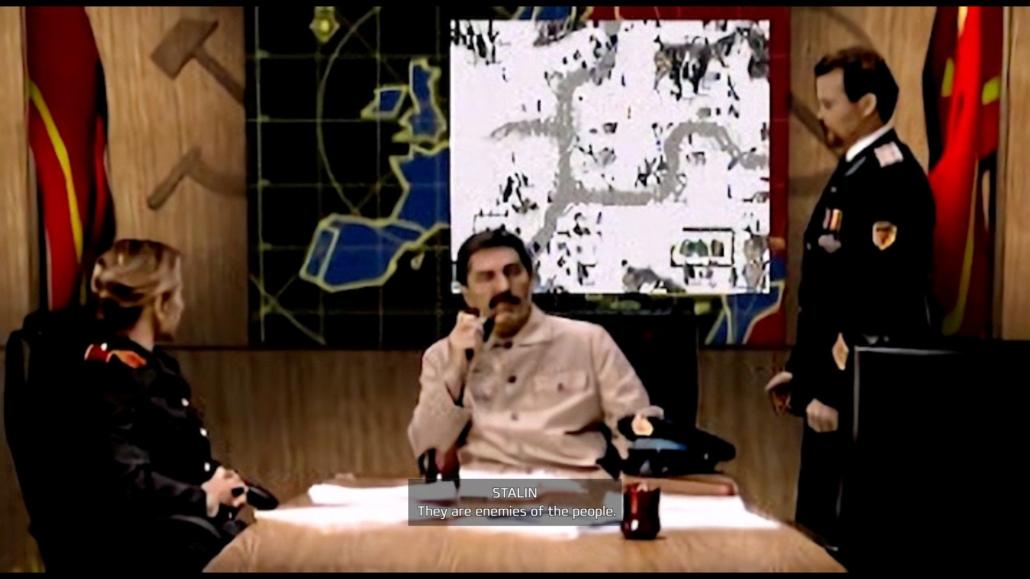 Briefing con Stalin, Red Alert