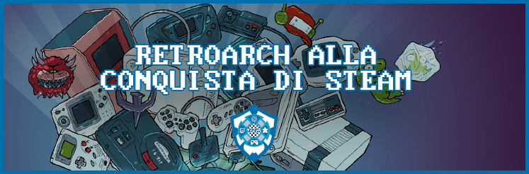 Retroarch su Steam