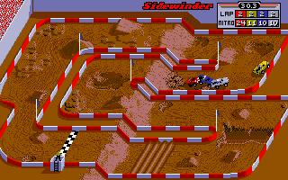 Sidewinder, il primo tracciato su Super Off Road