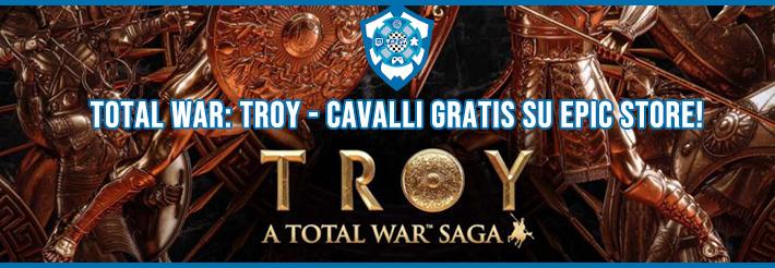 total war: troy - banner