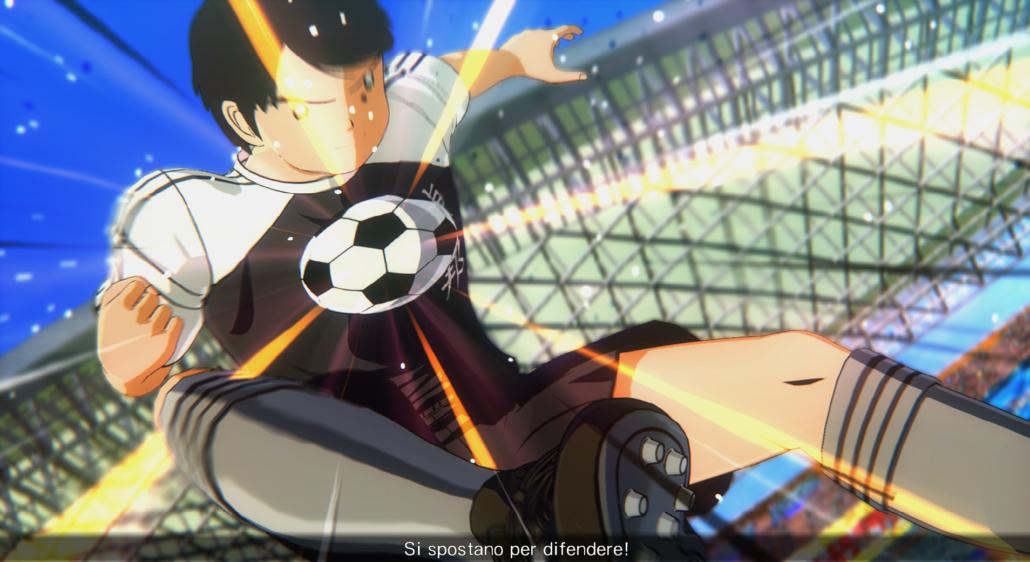 Captain Tsubasa - Animazione Stop