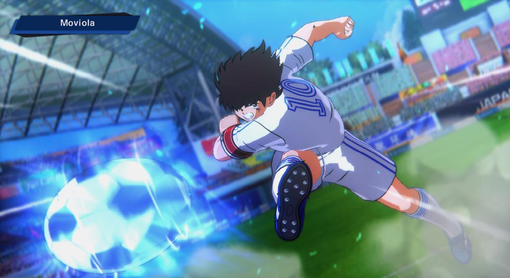 Captain Tsubasa - Animazione tiro