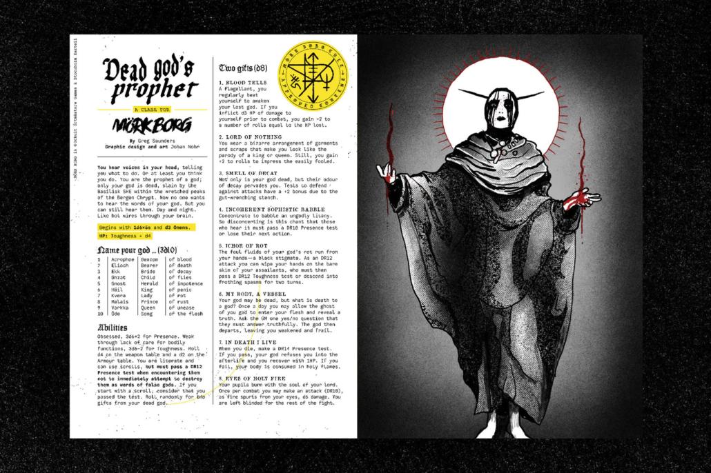 dead god's propher