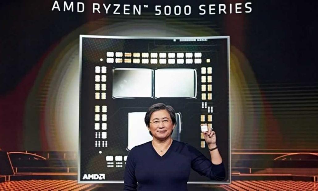Lisa Su, CEO e presidente di AMD presenta Ryzen 5000