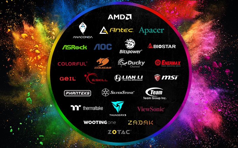 I partner di Razer Chroma Connect