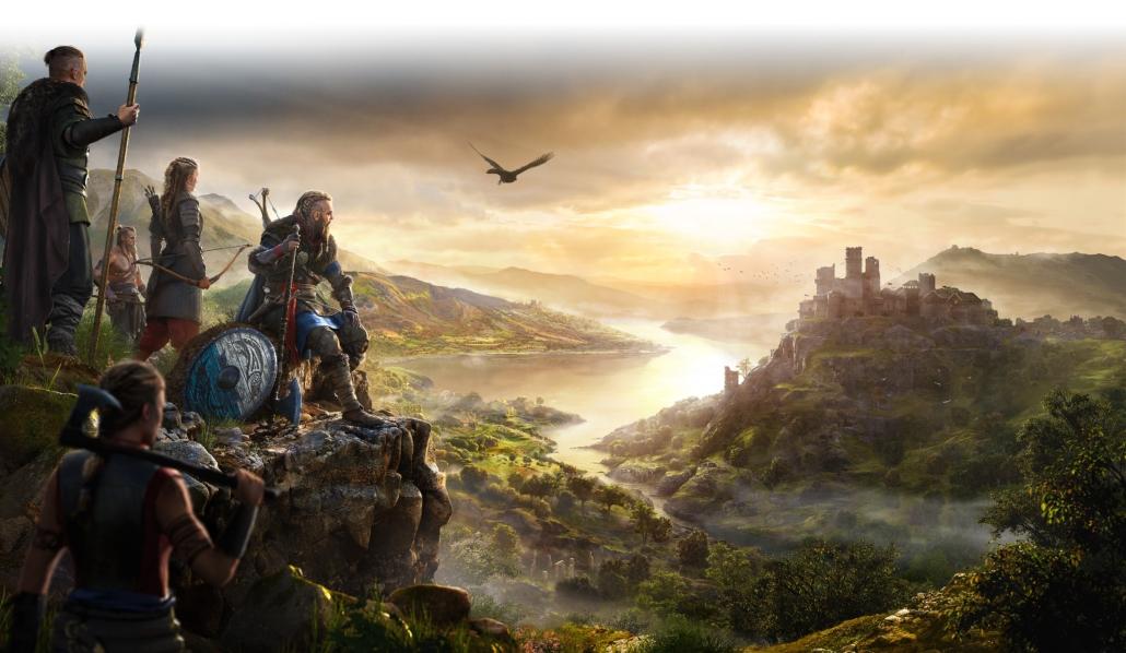 Paesaggio Assassin's Creed Valhalla