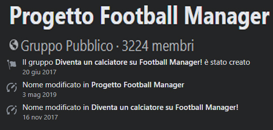 Progetto Football Manager Statistiche