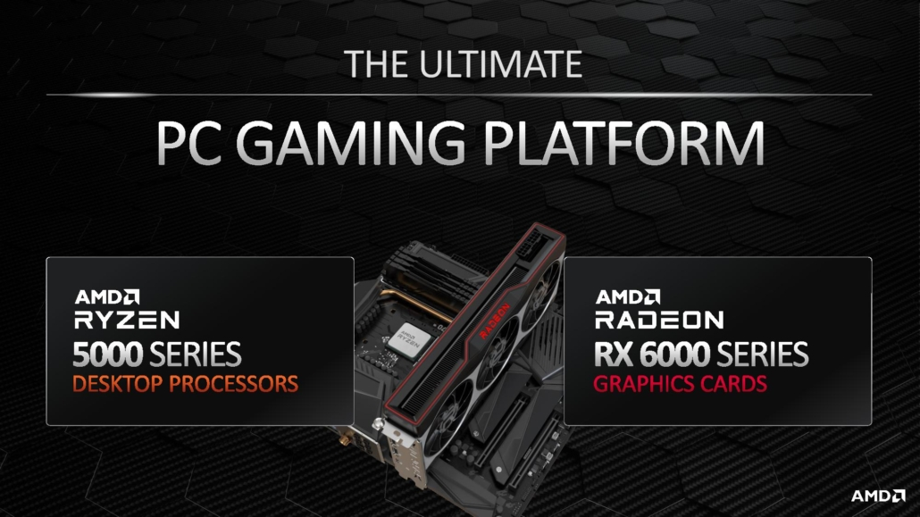 Ryzen 5000 più Radeon RX 6000