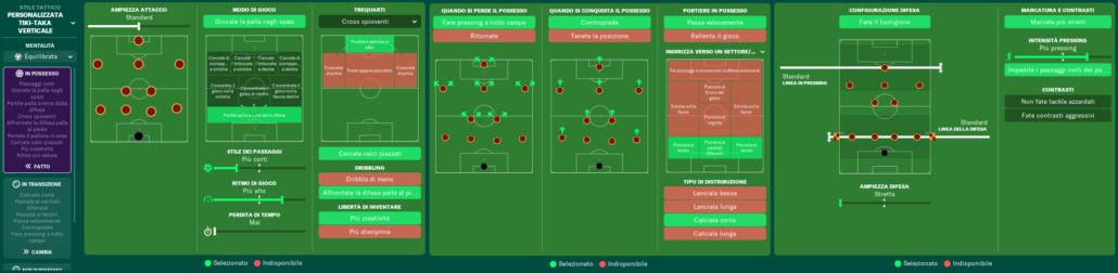 istruzioni squadra as roma football manager 2021 alessandro calchi
