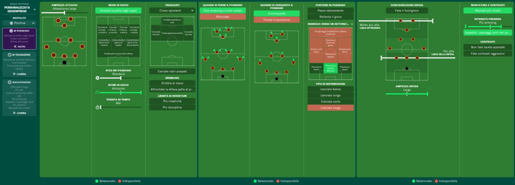 istruzioni squadra as roma football manager 2021 simone clerici 1