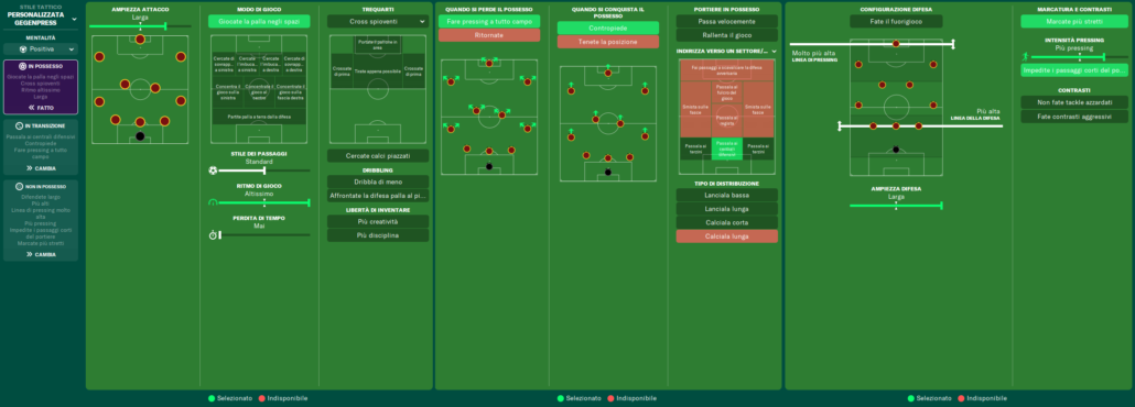 istruzioni squadra as roma football manager 2021 simone clerici 2