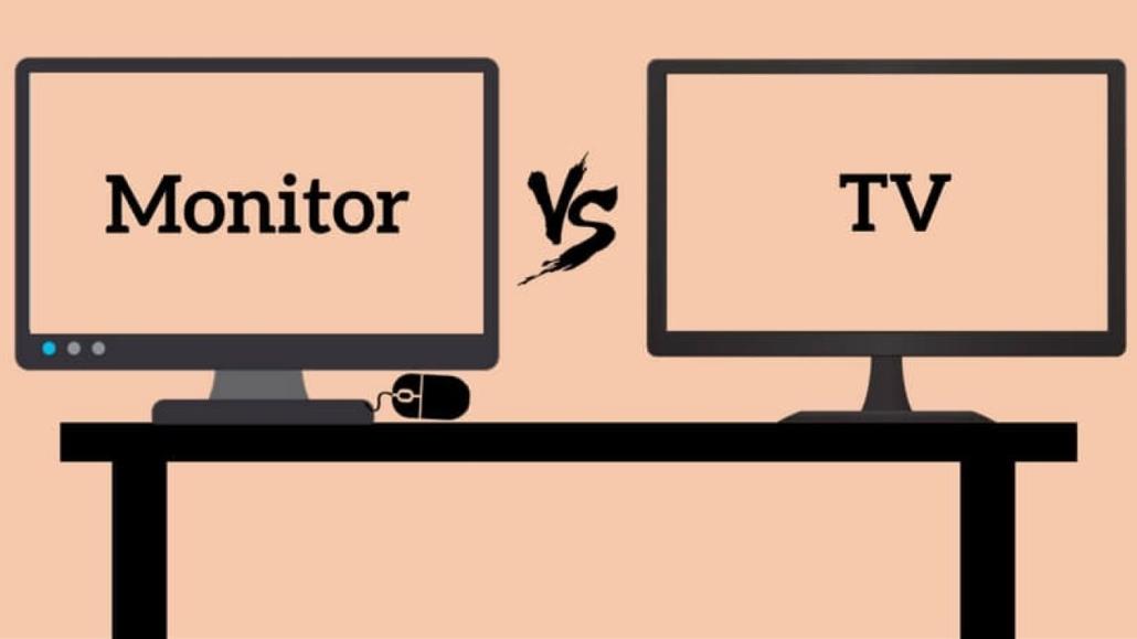 Monitor vs TV