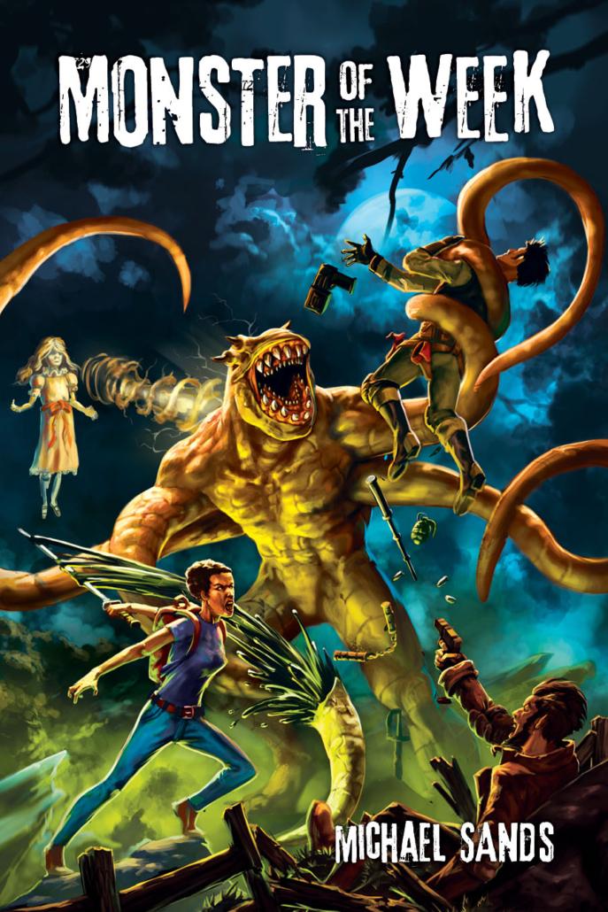 Copertina di Monster of the Week in versione originale