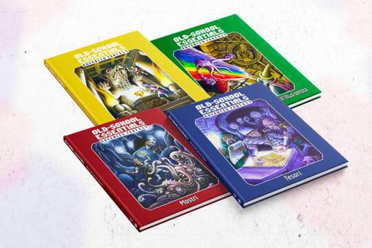 Old-School Essentials  - Advanced Fantasy - Need Games!