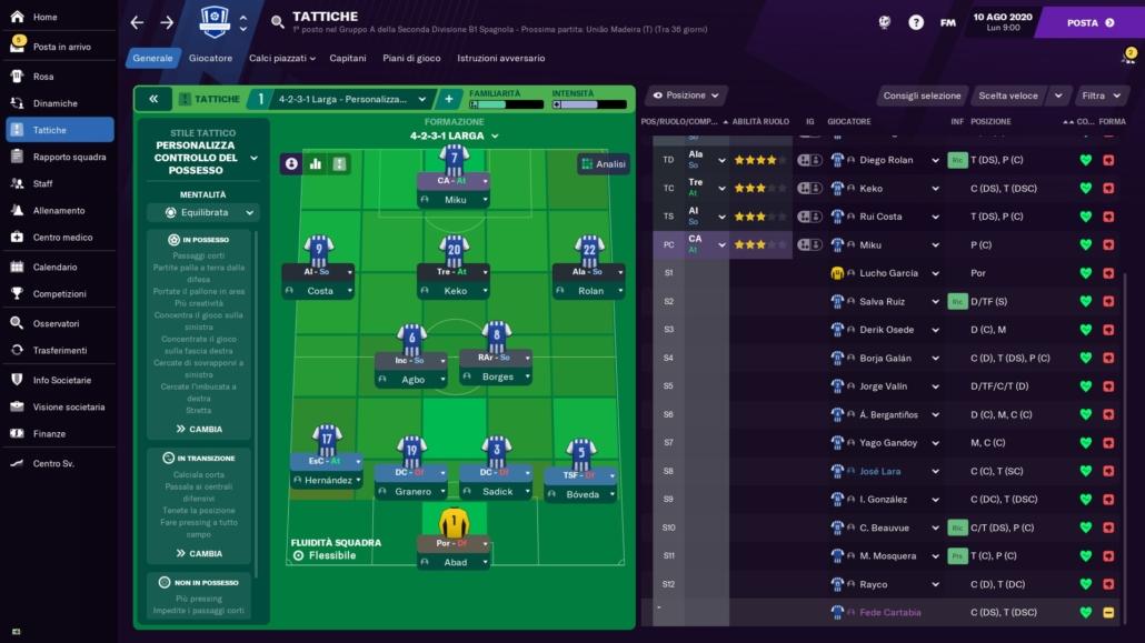 Deportivo La Coruña Football Manager 2021