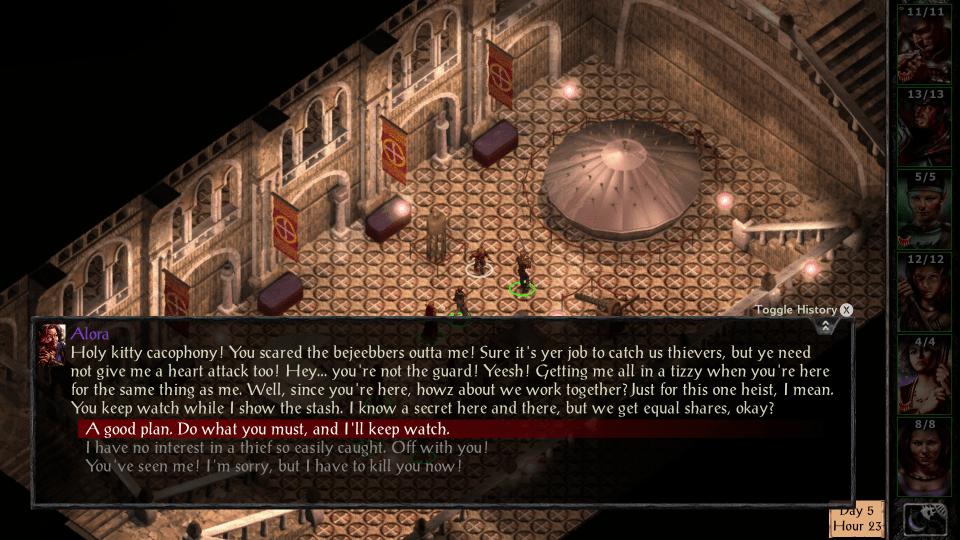 Baldur's Gate screen 01
