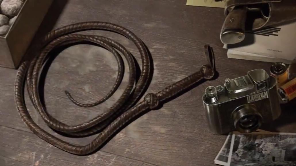 La mitica frusta di Indiana Jones