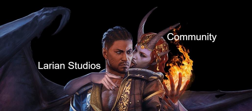 Baldur's Gate meme community