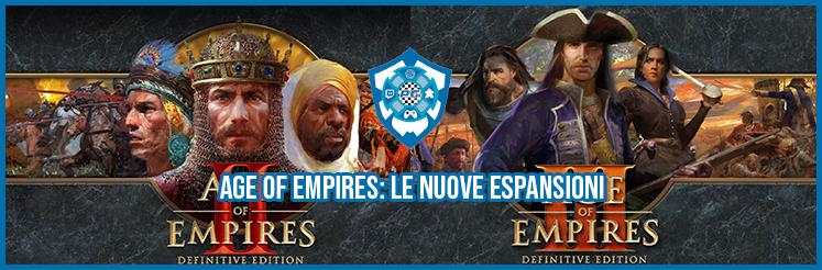 Age of Empires: le nuove espansioni