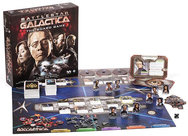 Battlestar Galactica - tabellone