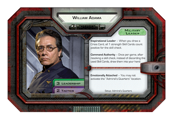 Battlestar Galactica - adama