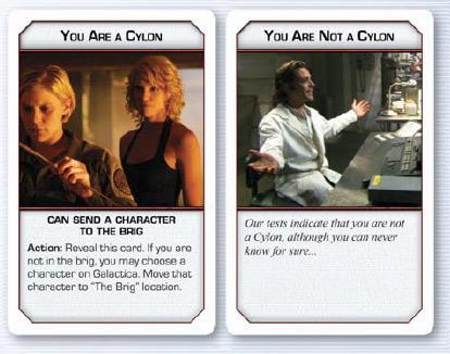Battlestar Galactica - Carte fedeltà