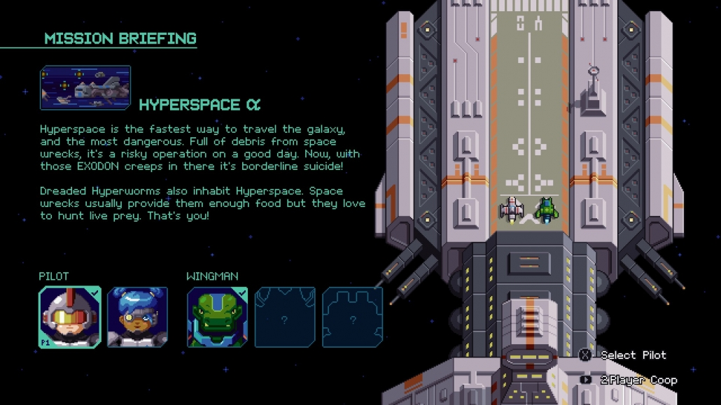 Hyper Echelon - Partenza missione
